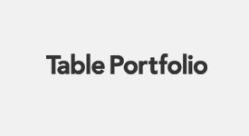 Table-portfolio